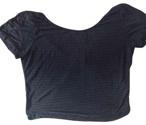 Brandy Melville Top Black and grey
