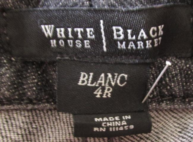 White House | Black Market Boot Cut Jeans-Distressed