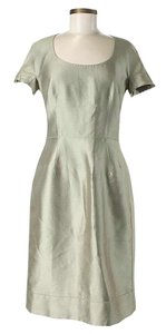 Dolce&Gabbana Nwt Metallic Shift Sheath Dress