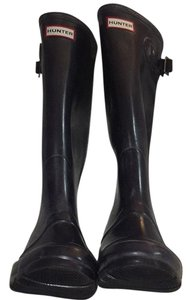 Hunter Dark Plum Boots