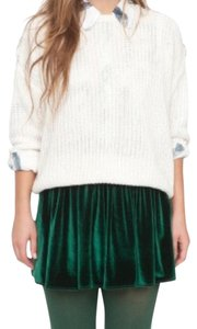 American Apparel Mini Skirt Green