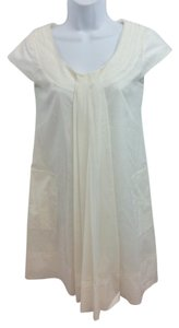 Philosophy di Alberta Ferretti short dress White Cotton on Tradesy