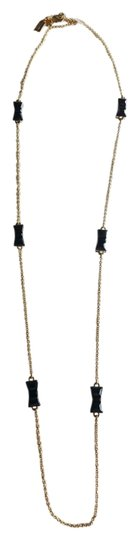 Preload https://item2.tradesy.com/images/kate-spade-gold-black-take-a-bow-jackpot-new-in-box-dustbag-necklace-15710911-0-2.jpg?width=440&height=440