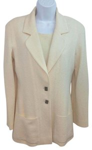 Chanel Wool Beige Jacket Blazer