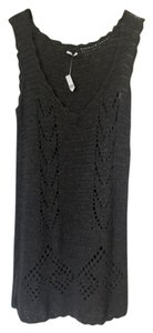 Prada short dress Grey Knit Alpaca on Tradesy