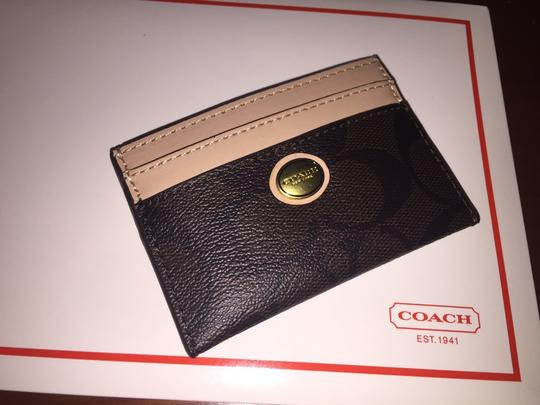 Coach Coach Peyton Signature Card Case F62861
