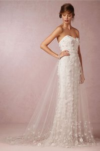 Theia Ava Tulle Over Skirt Wedding Dress