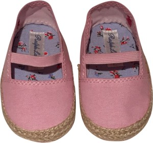 Ralph Lauren Espadrille Infant Canvas Pink Flats