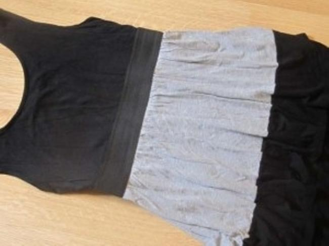 Maurices short dress Black and Gray on Tradesy