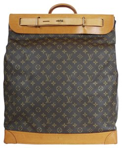 Louis Vuitton Duffle Rare Travel Vintage Brown Travel Bag