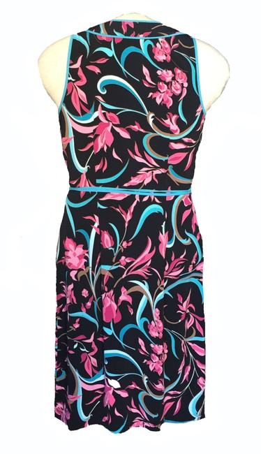BCBGMAXAZRIA Wrap Floral Dress