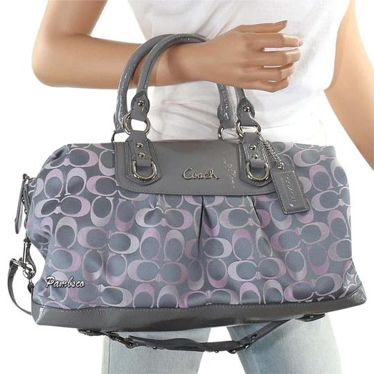 Preload https://img-static.tradesy.com/item/15713149/coach-ashley-extremely-rare-3-color-signature-satchel-0-2-540-540.jpg