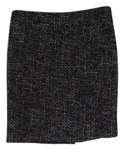 Piazza Sempione Skirt black white tweed