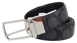 Coach Coach men's cut to size Reversible Belt (one size fit all belt)