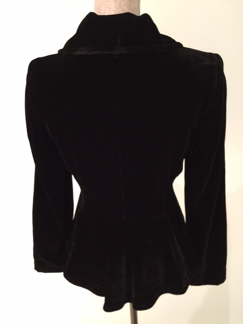 Ideology Jackets Evening Jackets Dressy Jackets Jackets Velvet Jackets Top Black