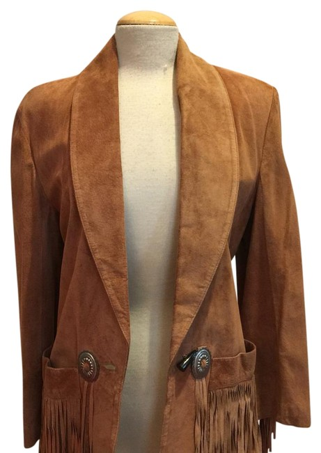 Melanzona Tan Jacket