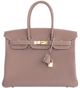 Hermès Birkin Birkin Birkin 35 Birkin Birkin 35 Tote in Taupe