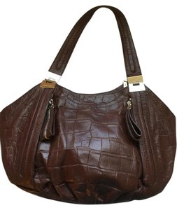 B. Makowsky Leather Shoulder Bag B Purses B Handbags Handbags Shoulder Bag
