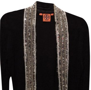 Tory Burch Linen Cotton Sparkle Cardigan