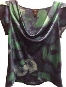 Ann Taylor Top Blue, Green