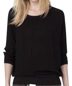 James Perse Chiffon Sweatshirt Sweater