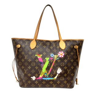 Louis Vuitton Sprouse Roses Graffiti Palm Artsy Tote in Monogram