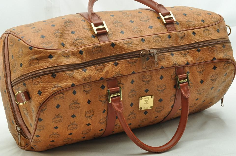 Burberry Leather Travel Bag