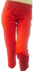 The Limited Cropped Pants Dressy Capris Red