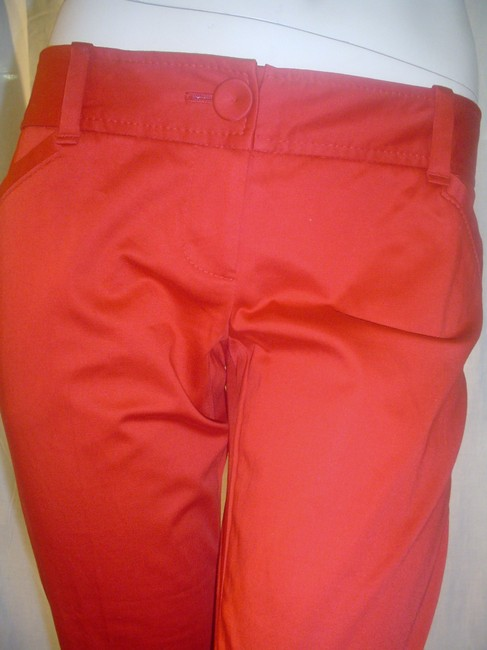 The Limited Cropped Pants Dressy Capris Red Image 2