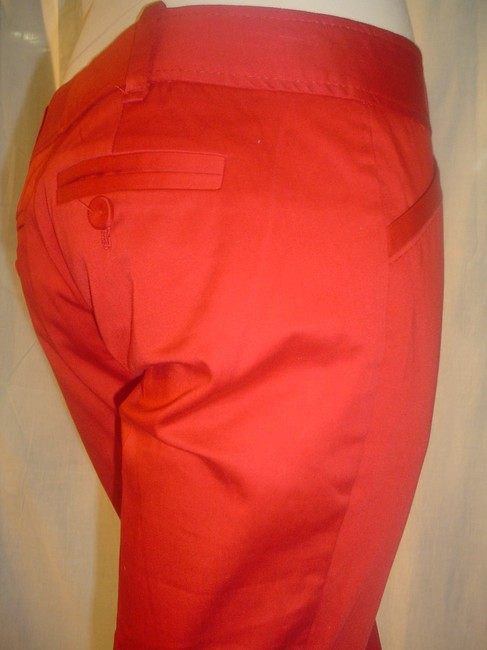 The Limited Cropped Pants Dressy Capris Red Image 5