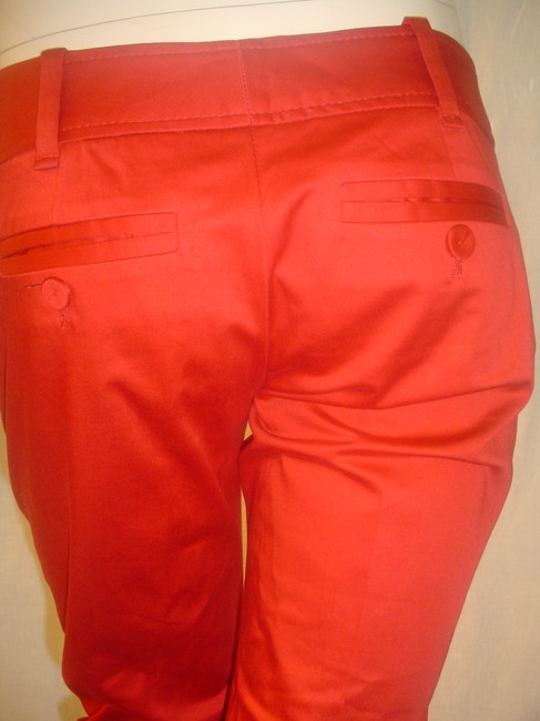 The Limited Cropped Pants Dressy Capris Red Image 6