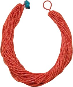 Gorgeous Coral Strand Necklace