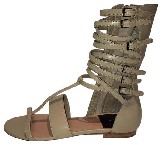 Preload https://item3.tradesy.com/images/laurence-dacade-new-happy-leather-gladiator-sandals-size-us-75-15716407-0-2.jpg?width=440&height=440