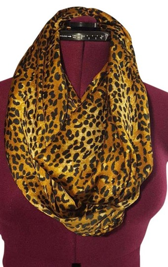 Other Leopard Print Infinity Loop Scarf