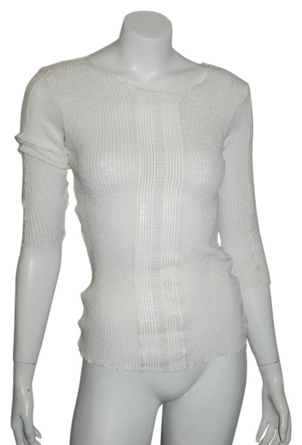 Preload https://img-static.tradesy.com/item/15716704/maje-11-cotton-cut-out-front-panel-sleeve-1-ivory-sweater-0-2-650-650.jpg