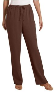 Soft Surroundings Relaxed Pants CHOCOLATE