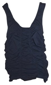 Tango Las Rouched Top Black