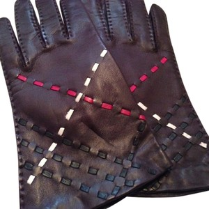 Burberry Burberry Leather Gloves