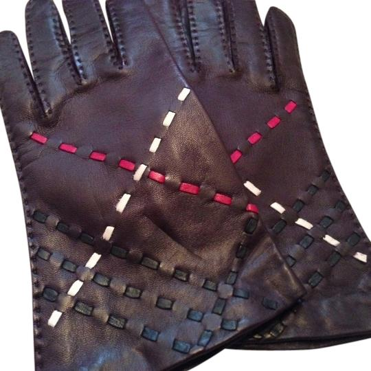 Burberry Burberry Leather Gloves Image 0