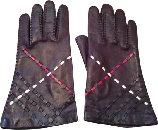 Burberry Burberry Leather Gloves Image 2