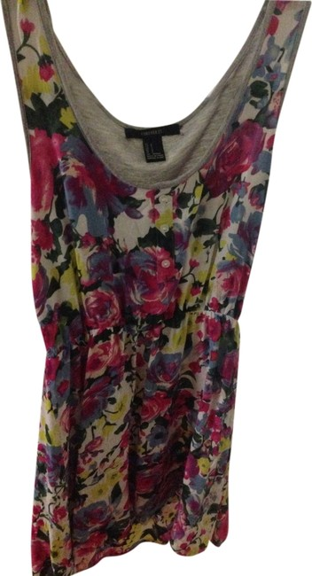 Preload https://item1.tradesy.com/images/forever-21-floral-pink-blue-gray-above-knee-short-casual-dress-size-4-s-1571720-0-0.jpg?width=400&height=650