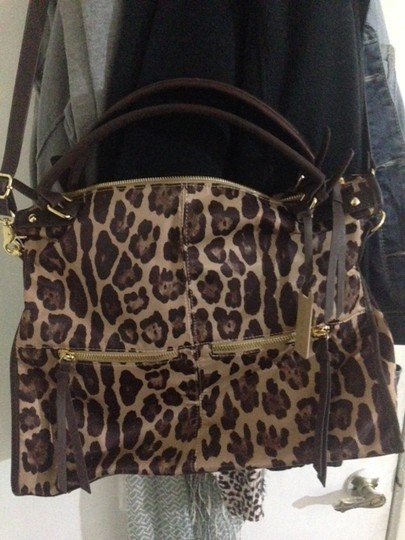 Steve Madden Leopard Cross Body Bag