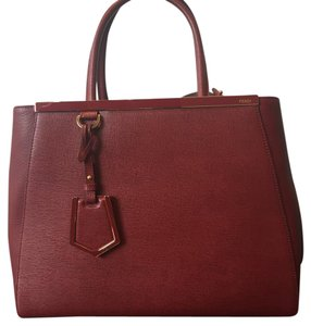 Fendi Satchel in Burgundy