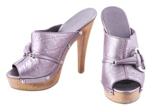 8ac6d0f1797 Purple Gucci Mules   Clogs - Up to 90% off at Tradesy