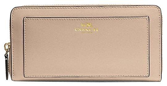 Coach Coach DARCY LEATHER ACCORDION ZIP WALLET