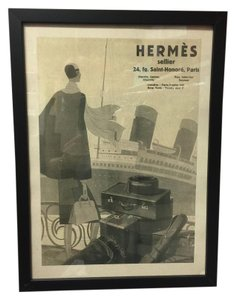 Hermès Advertising print from the 1930s