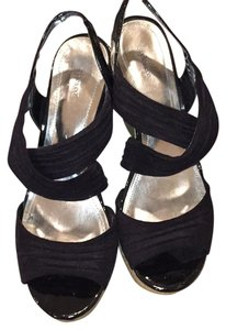 Style & Co Black Wedges