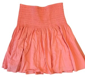 Club Monaco Orange Flowy Skirt