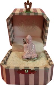 Juicy Couture JUICY COUTURE BEAUTIFUL and SUPER RARE, HARD TO FIND PINK & SILVER BUDDHA CHARM!