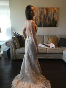 Jessica McClintock Empire Low Cut Wedding Dress